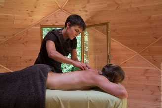 Cottage with wellness massage on site with organic oils