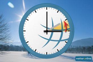 In der Nacht zum 30. Oktober wird die Uhr eine Stunde zurückgestellt.