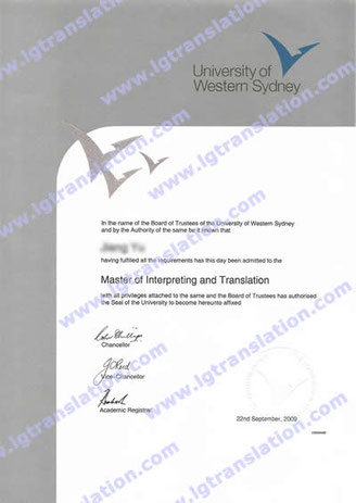 Master of Interpreting and Translation from University of Sydney, Jiang Yu, NAATI certified English-Chinese/Mandarin translator/interpreter