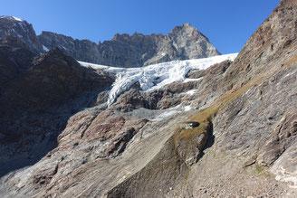 Hochtour, Dent d'Hérens, Westgrat, Tiefmattergrat, Rifugio Aosta, Hüttenweg, Haut Glacier de Tsa de Tsan