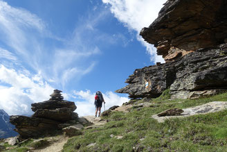 Lenzspitze Nadelhorn, Dom, Domhütte, Zustieg