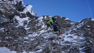 Skitour, Chli Spannort, Nordcouloir, Nordwand Couloir