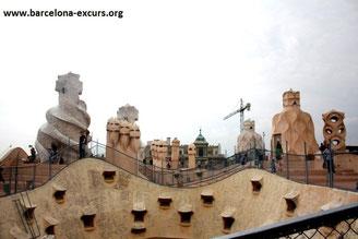 Пешеходная экскурсия по объектам Гауди - ла Педрера