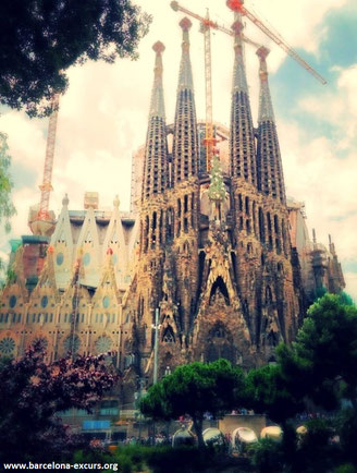 Храм Святого Семейства (ла Саграда Фамилия) в Барселоне
