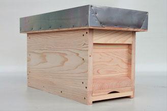Bienenstock aus Holz