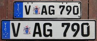 australische Eurokennzeichen