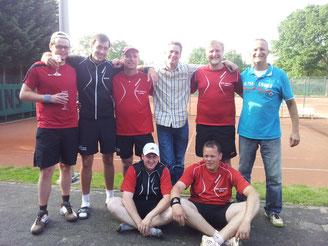 Aufsteiger 2013! Friedrich Droste, Michael Hansknecht, Carsten Krauß, Thomas Schulte-Kramer, Sven Schneider, Andreas Bölling, Björn Rinsche, Elmar Freiburg-Neuhaus.