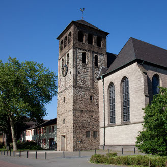 Die Abtei- und Pfarrkirche St. Johann in Duisburg Hamborn l  Foto: Pfarrei St. Johann