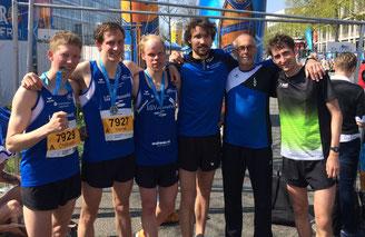 Christopg Gallo, Yannik Duppich, Daniel Schmidt, Andreas Keil-Forneck, Klaus Duppich und Thorben Dietz (v.l.n.r.)