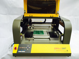SMALLSMT VP-2500DP pick & place machine bottom camera view