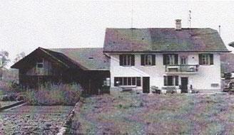 Altes Haus mit der Scheune in welcher Grossvater Erwin Steffen arbeitete.