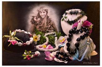 Handgefertigte Hawaiianische Halsketten