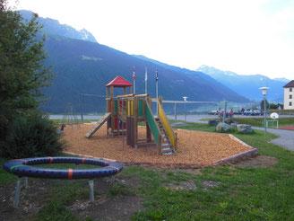 Spielplatz in unmittelbarer Umgebung