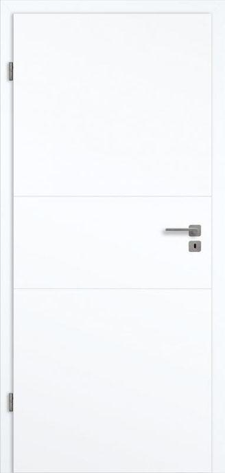 Genua GA3 Weißlack 3.0 Extraweiß, Designkante