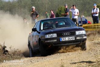 Pierre Mattern / Max Langner - Lausitz 2011 - Audi 90 Quattro