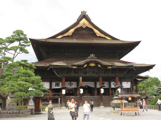 Zenko-ji Main Hall
