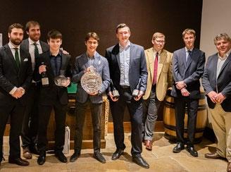 Les vainqueurs du Trophée des Climats 2019 à Meursault
