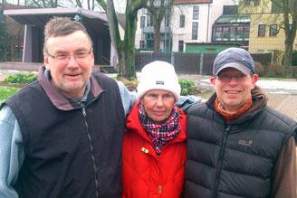 v.l. Wilfried Koch, Marie Heine, Torsten Breuer