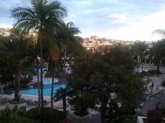 Teneriffa - Blick vom Hotel meines Webmasters.