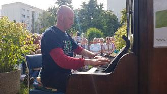 Bernd Reiher Klavier Konzert Leipzig Tastentage