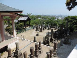 茨木 大念寺 墓地