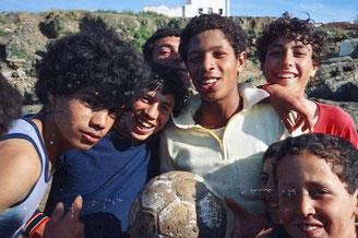 Ali in der Mitte war der von allen respektierte Anführer