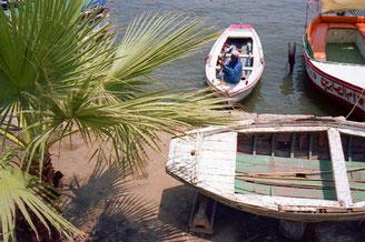 Kairo - Bootsidyll am Nil