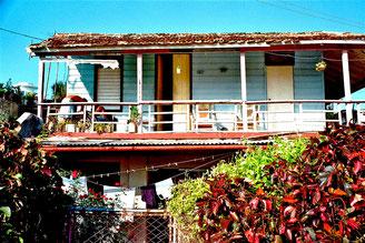 altes kubanisches Strandhaus