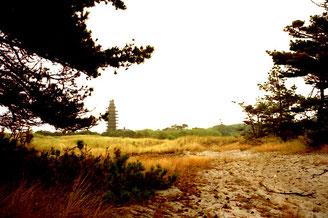 der Darsser-Leuchtturm - früher militärisches Sperrgebiet