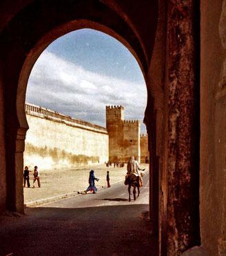 beeindruckendes Tor in den Orient