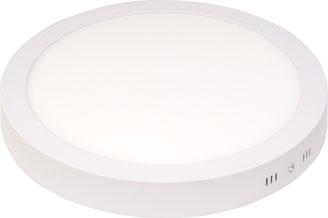 Bild: Aufbau LED Paneel rund 24W, 300mm