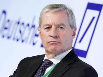Co-Chef der Deutschen Bank, Jürgen Fitschen. Foto: Bodo Marks