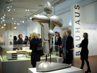 Kunstverein führt Bühnenstück zu Ehren Schlemmers auf. Foto: B. Pedersen/Archiv