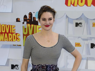 Shailene Woodley bekam drei Preise. bei den MTV Movie Awards in Los Angeles, Foto: Mike Nelson