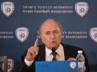 Joseph Blatter steht vor seiner Wiederwahl. Foto: Abir Sultan