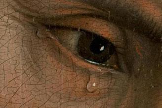 """""""La Descente de croix"""" de Roger van der Weyden, (Prado, DR)."""