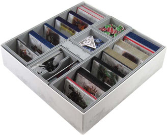 lcg living card game insert organizer board game foamcore