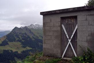 Am Furkajoch auf 1.761 Meter
