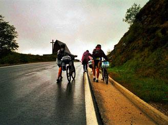 brasilianische Rad-Pilger