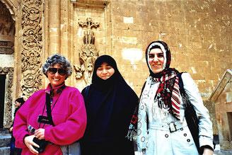eine streng gläubige Muslima und ihre Tochter