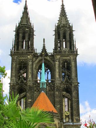 der gotische Dom von Meissen