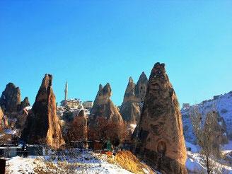 カッパドキア岩石群の写真