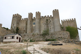L'antica città di Obidos e il suo castello