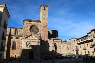 Siguenza:Plaza Major e la Cattedrale