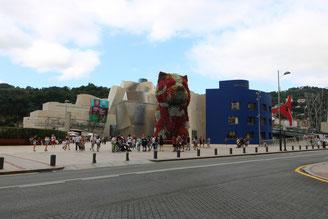 Bilbao: Guggenheim Museum con Puppy