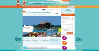 VVF de Lege-Cap-Ferret, villages vacances familles