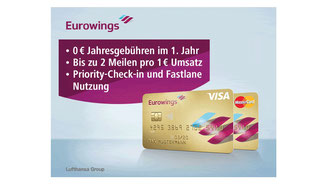 CheckEinfach | Eurowings Kreditkarte