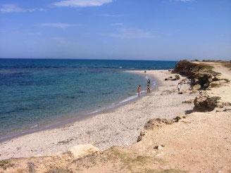 チュニジアの海