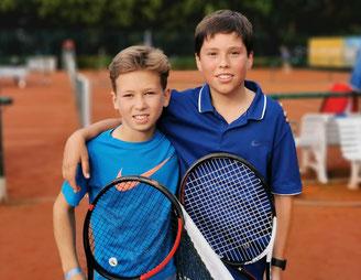 Luca Larwig & Cornelius Oertel Meister der 1. Bezirksklasse 2019