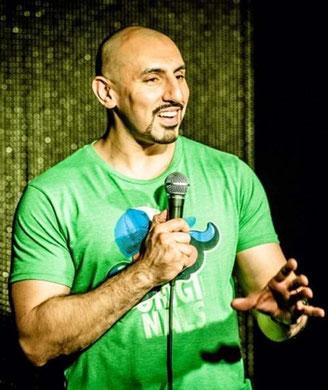 Sheraz Yousaf, Muslim comedian